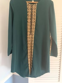 Dark green tunic with embroidery Bethesda, 20814