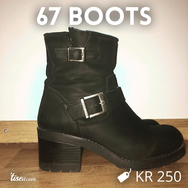 Sixty seven boots