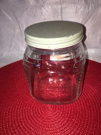 clear glass jar with lid Frederick