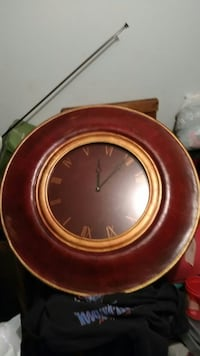 "Large wooden clock 38"" across large New Berlin, 53151"