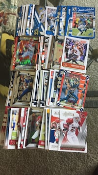 Huge lot football cards with jersey cards auth Mechanicsburg, 17055