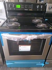 stainless steel Electric stove new scratch  Bowie, 20715