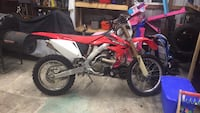 CRF 250 it's a 2005 I am 2nd owner the 1st guy worked on them for a living for twig cycles an he took care of it as well only gave me a bill of sale since I've had bike I've drove it maybe hand full of times just sits I am selling off everything have 4whe Smithsburg, 21783