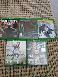 XBOX ONE GAMES  St. Catharines, L2T 4B4