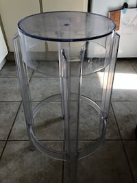 ONE Clear bar stool