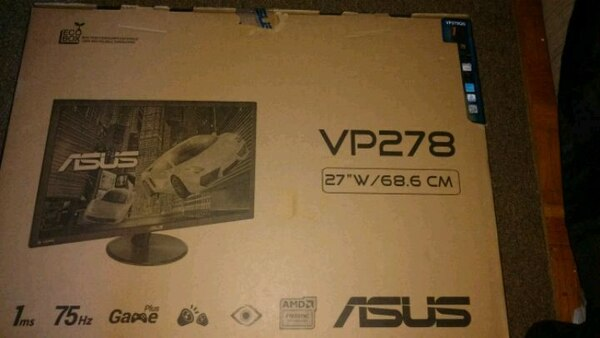 """ASUS 27"""" Monitor 1ms 75hz"""