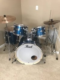 Pearl Export Drum Set with zbt cymbals Great Falls, 22066