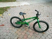 green and black Norco ZX-80 bike 576 km