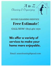 House cleaning Wesley Chapel