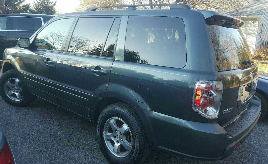 Used 2007 honda pilot with navigation 3 rows in new carrollton for Honda pilot 3 rows