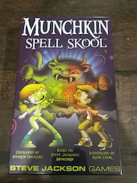 HARD TO FIND Munchkin Spell Skool (unopened) Berwyn Heights, 20740