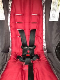 toddler's black and red carrier car seat Jacksonville, 32220