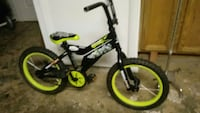 toddler's black and neon-yellow bicycle Martinsburg, 25401