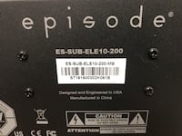 Episode ELE 10-200 Powered Subwoofer Newport News, 23602