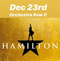 Hamilton in Indy - 3rd Row Center! Indianapolis
