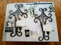 Wall sconces with candles 976 mi