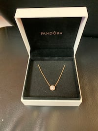 Brand new Pandora sparkle Halo necklace  Toronto, M1R 2Z2