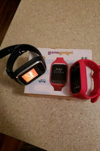 red and black smartwatches with box Albany, 12205