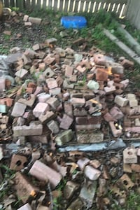 Bricks are free for the hole pile