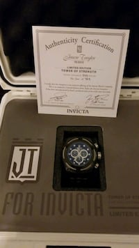 Jason Taylor Ltd Edition Invicta watch #100 of 999 Lusby, 20657