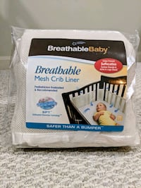BreathableBaby mesh crib liner (cream) Sterling, 20166