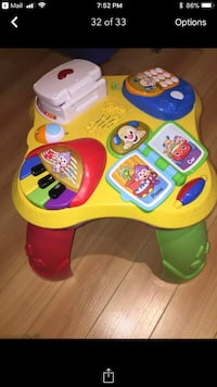 Activity table Laval, H7T 2B1