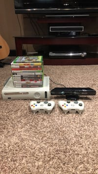 Xbox 360 with games + Kinect 3148 km