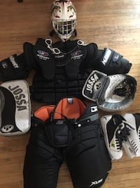 Used Goalie Equipment. XMAS Is Coming