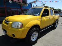 2004 Nissan Frontier 4X4 XE Crew Cab V6 MANUAL *YELLOW* 150K SUPER CLEAN ! Milwaukie, 97222