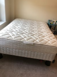 Queen Sealy Mattress with Box Spring and Frame Atlanta, 30305