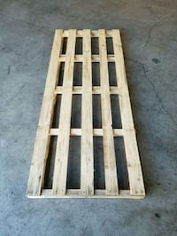 two brown wooden pallet boards Hayward, 94545