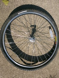 "26"" Schwinn Tire with Weinman 26"" Quick Release Ri"
