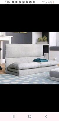 Loveseat sofa convertible