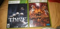 two Xbox 360 game cases Waterloo, N2J 2A2