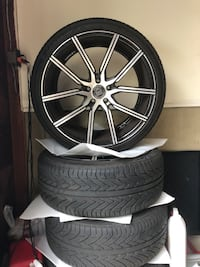22s wheels and tire package  Stratford