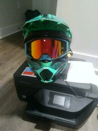 """Fly Racing Toxin DOT 218 """"CERTIFIRD"""" Helmet with G Baltimore, 21217"""