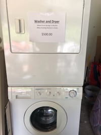 white front-load washing machine NEWMARKET