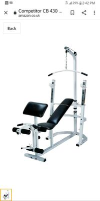 """IMPEX CB430 """"COMPETITOR""""- COMPLETE HOME GYM SYSTEM"""