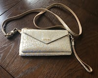Genuine leather crossbody/clutch with built in wallet and RFID protection for $10.   Leesburg, 20176