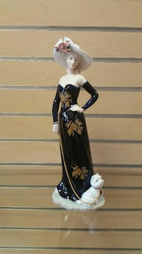 Figurine of a Woman with a puppy  (new) Millcreek, 84117