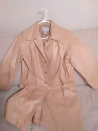 Real Leather Trench Coat Austin, 78748