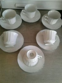 $10 for six sets of teacups and saucers Milton, L9T 7C4
