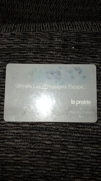 la prairie ritz carlton spa card  $632 value Lake Forest, 92630