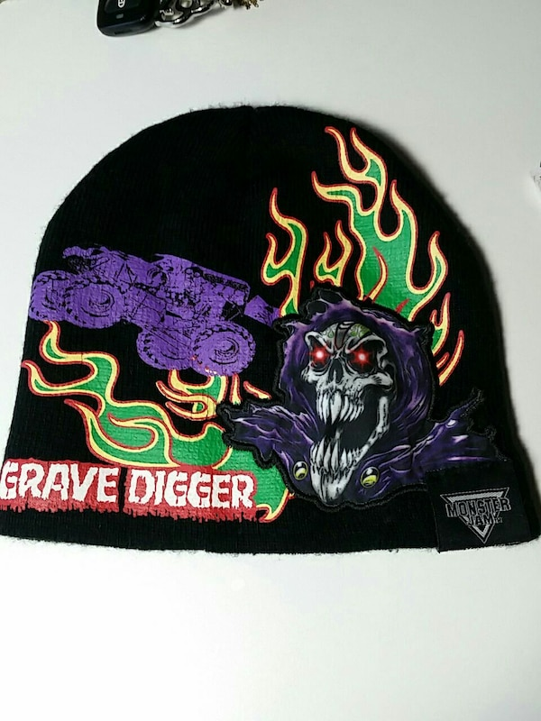 a85a5a305fe Used GRAVE DIGGER KNOT HAT Youth one size fits all for sale in Bethlehem -  letgo