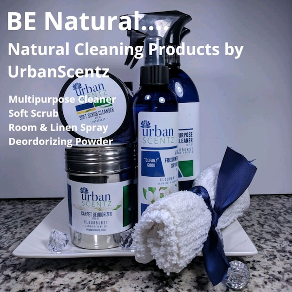 Natural Organic Cleaning Kit