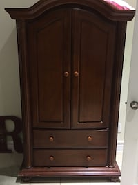 Kids dresser wood armoire Laredo, 78041