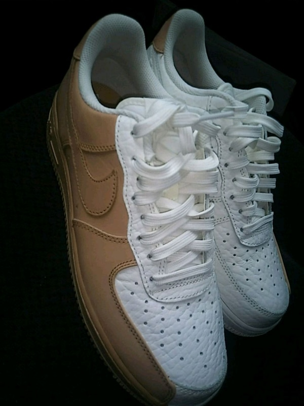 a15637451a29b Used white tan Nike Air Force 1 low for sale in Atlanta - letgo
