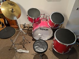Radical drum kit. New price!