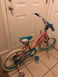 toddler's red and blue bicycle Haverhill, 01830