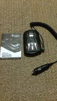 blac Cobra XRS 9570 with manual Vancouver, V5Y 0A6